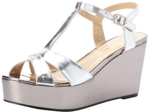 C Label Women's Bottega-2 T-Strap Sandal