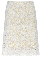 Burberry Macramé Lace Skirt