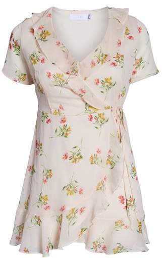 --- Colie Ruffle Wrap Dress