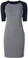 MICHAEL Michael Kors half sleeve printed dress - women - Polyester/Spandex/Elastane - 6