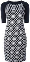 MICHAEL Michael Kors half sleeve printed dress