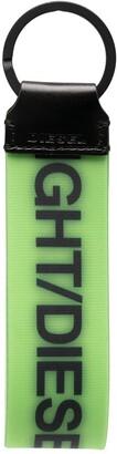 Diesel Logo Print Keyring