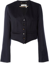 Chloé cropped blazer - women - Virgin Wool/Cotton/Viscose - 36