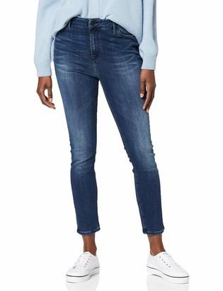 Tommy Hilfiger Women's Harlem Ultra Skinny Hw Dina Straight Jeans
