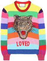 Gucci Loved Rainbow Sweater