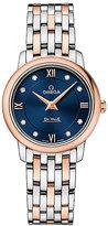 Omega De Ville Prestige ladies' two colour bracelet watch