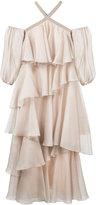 Anna October - Teired Dress - women - Silk/Polyester - S