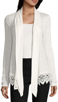 BY AND BY by&by Long Sleeve Cardigan Juniors