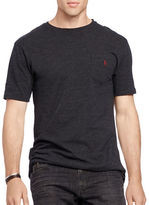 Polo Big And Tall Solid Short Sleeve Tee