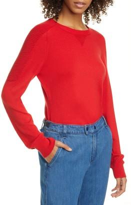 Rag & Bone Pak Rib Detail Crewneck Sweater