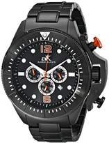 Adee Kaye Men's AK9041-MIPB Guardian Analog Display Japanese Quartz Black Watch