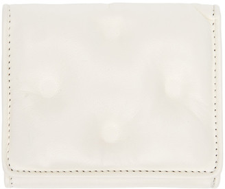 Maison Margiela White Glam Slam Wallet