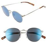 Raen Men's Benson 51Mm Sunglasses - Silver/ Matte Root Beer