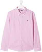 Tommy Hilfiger Junior TEEN striped button-down shirt