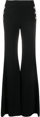 Balmain Flared Knitted Trousers