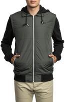 RVCA Men's Puffer Zips Hybrid Jacket