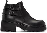 Maison Margiela Black Short Zip Boots