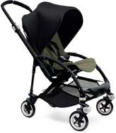 Bugaboo Bee 3 Black Frame Stroller With Dark Khaki Seat (Black) by