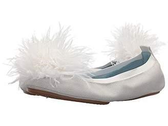 Yosi Samra Women's Marry ME Marabou Ballet Flat