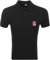 Love Moschino Short Sleeve Polo T Shirt Black
