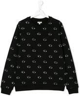 Kenzo eyes print sweatshirt