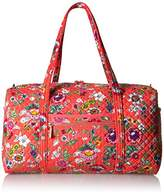 Vera Bradley Women's Iconic Large Travel Duffel-Signature