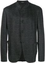 Giorgio Armani jacquard mandarin collar jacket