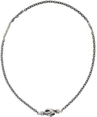 Martyre Silver Lennox Choker Necklace