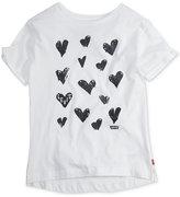 Levi's Side-Slit Cotton T-Shirt, Big Girls (7-16)