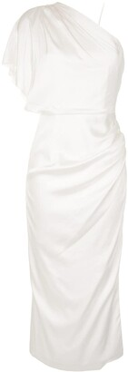 Manning Cartell Australia Draped One-Shoulder Dress