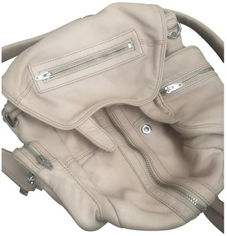 Alexander Wang Marti Pink Leather Backpacks