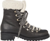 Barneys New York Women's Shearling-Lined Garnet Ankle Boots-BLACK