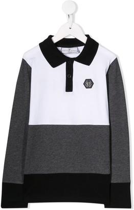 Philipp Plein Junior Logo Polo Shirt