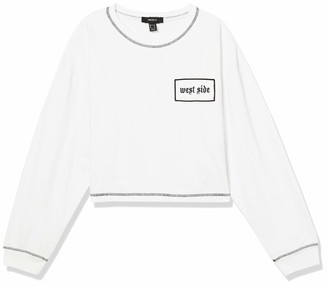 Forever 21 Women's Plus Size Cropped Sweatshirt