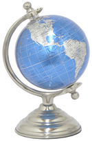 Three Hands Globe Display