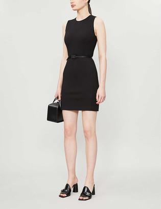 Alyx Buckle-belt stretch-woven mini dress
