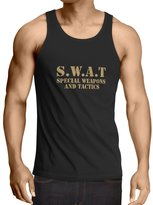 lepni.me Vest S.W.A.T - Special Weapons And Tactics ( Black Gold)