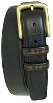 Boconi 'Hendrix' Pebbled Leather Belt