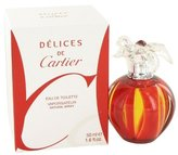 Cartier Delices de Eau Fruitee Eau De Toilette Spray - 50ml/1.6oz