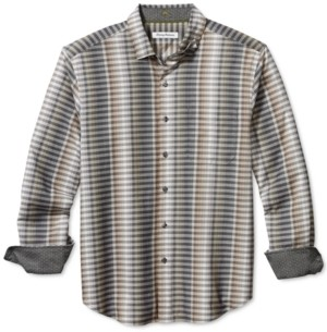 Tommy Bahama Men's Surf Springs Stripe Classic-Fit Stretch Check Shirt
