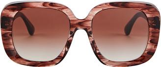 Oliver Peoples Nella Oversized Square Sunglasses