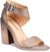 Kelsi Dagger Brooklyn Mayfair City Two-Piece Block-Heel Sandals