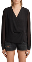 AllSaints Nile Top, Black