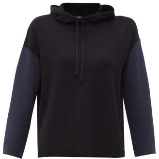 Max Mara Addobbo Hooded Sweatshirt - Womens - Black Multi