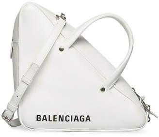 Balenciaga Triangle Duffle S White