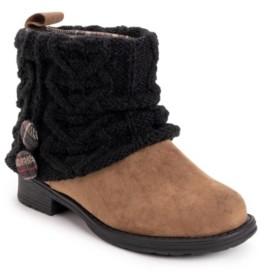 Muk Luks Women's Patti Sweater Knit Booties Women's Shoes