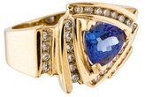 LeVian Le Vian Tanzanite & Diamond Ring