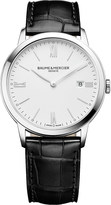 Baume & Mercier 10323 Classima stainless steel and leather watch