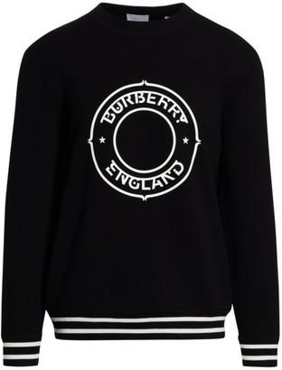 Burberry Whitmore Logo Crew Sweater