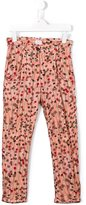 Morley 'England Confetti Rose' trousers - kids - Viscose/Wool - 4 yrs